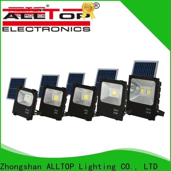ALLTOP solar panel flood lights manufacturers for stadium