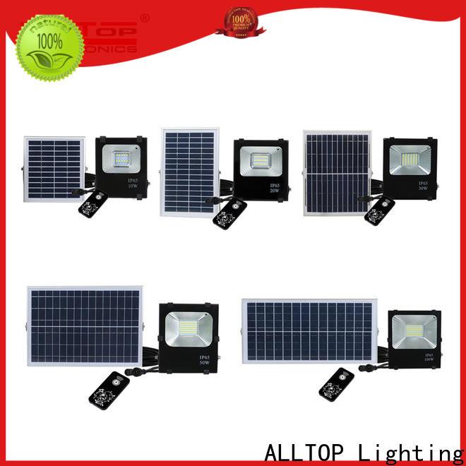 ALLTOP folding solar powered outside lights suppliers for spotlight