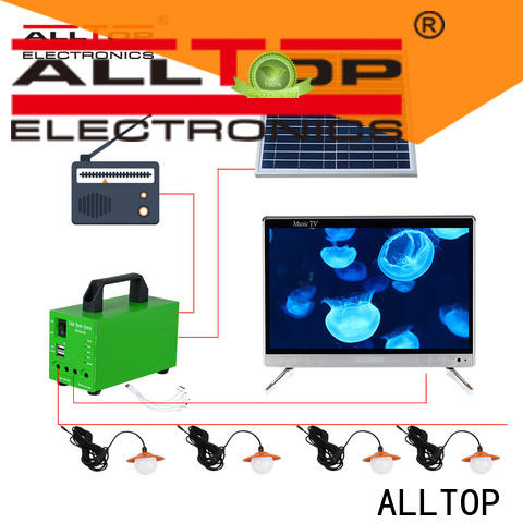 portable solar panel power bank supplier for outdoor lighting