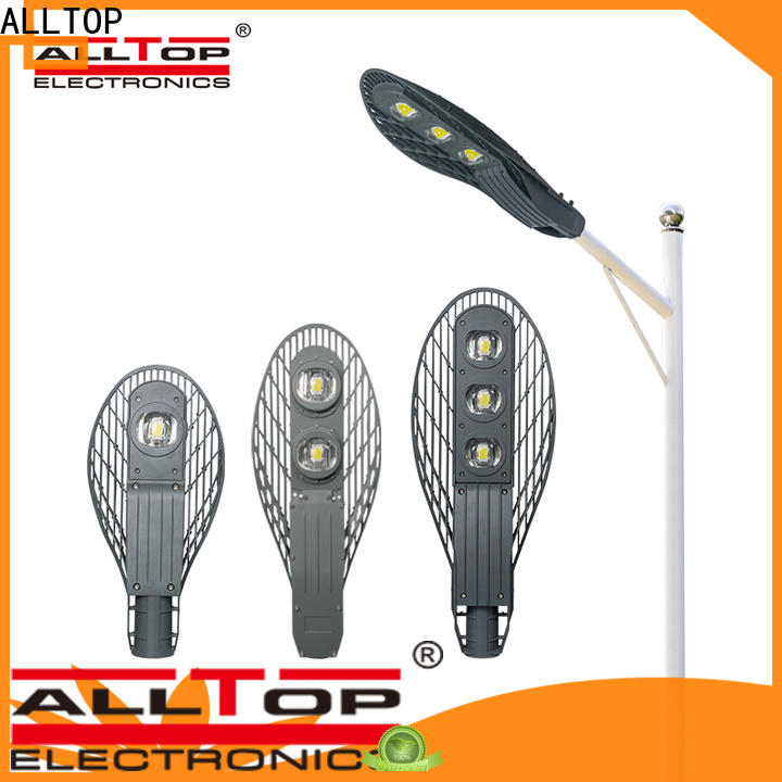 ALLTOP aluminum alloy solar powered street lights factory for business for facility
