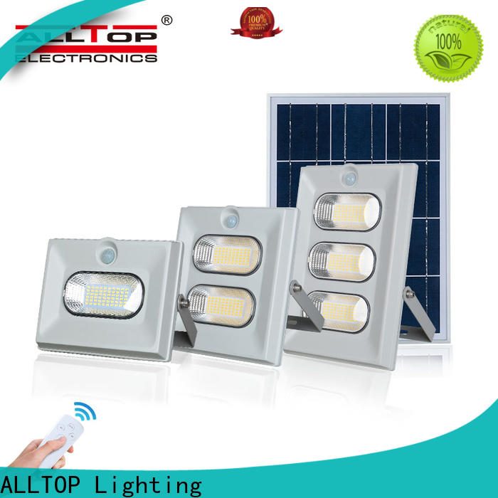 ALLTOP powered high power solar lights manufacturers for spotlight