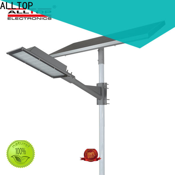 ALLTOP 12w solar street light directly sale for playground