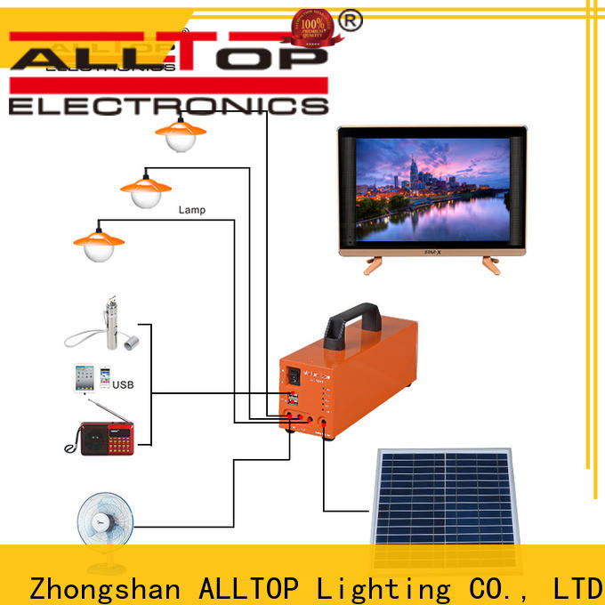 ALLTOP solar battery system with good price for battery backup