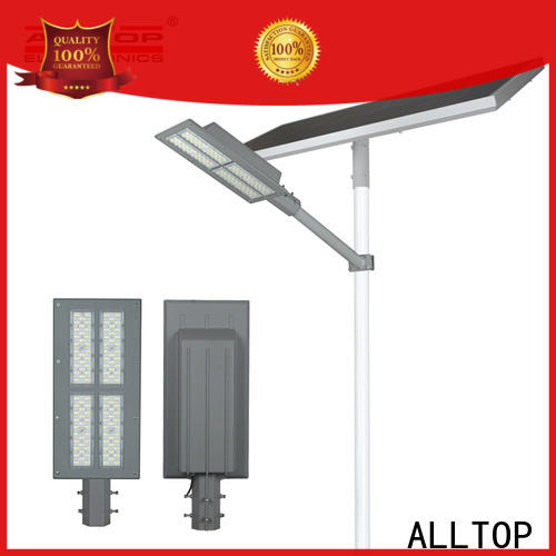 ALLTOP waterproof 12w solar street light supplier for outdoor yard