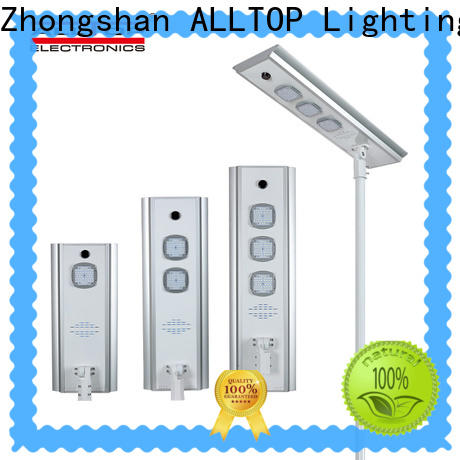 ALLTOP outdoor lighting solar with good price for highway