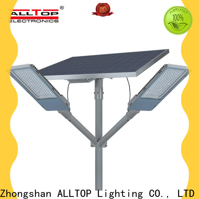 ALLTOP factory price solar led street lamp factory for playground