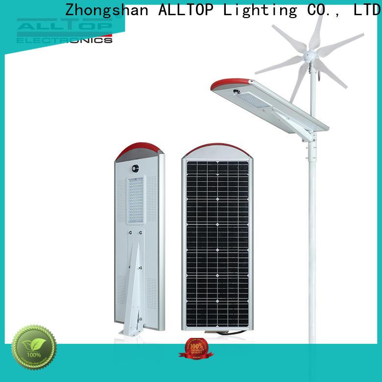 ALLTOP factory price 9w solar street light factory for garden