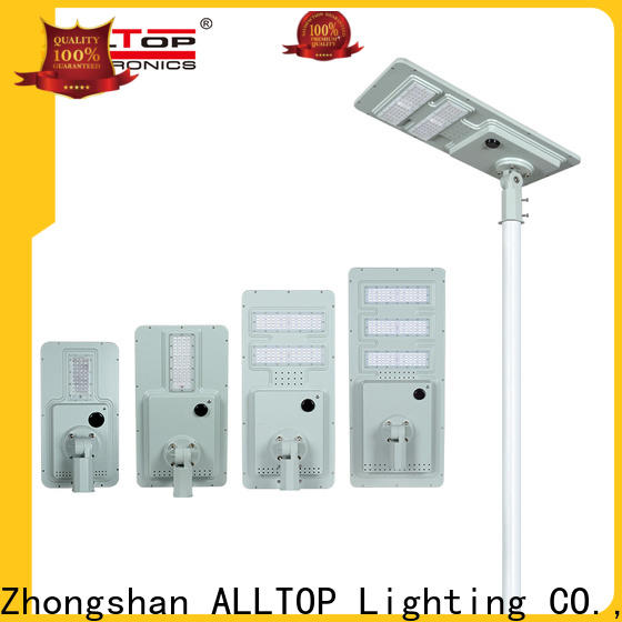 ALLTOP solar street light company supplier for garden