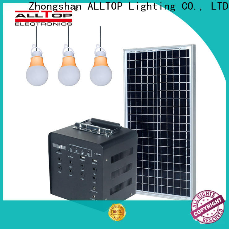 ALLTOP solar lighting system wholesale for camping