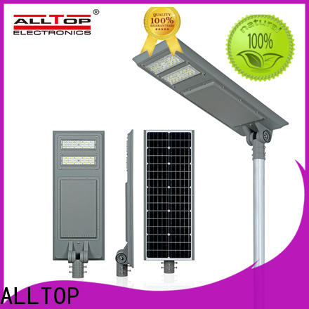waterproof solar street light with pole wholesale for road