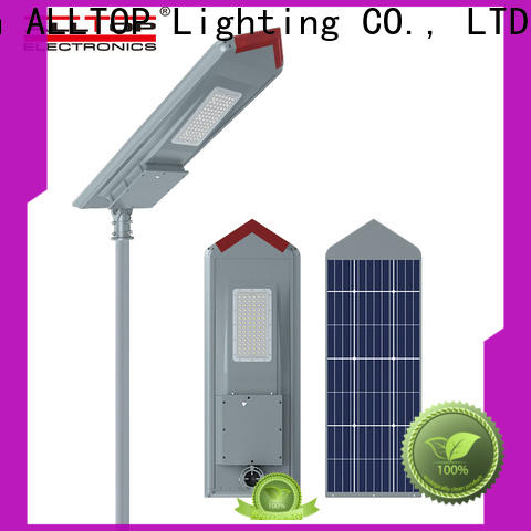 ALLTOP waterproof integrated solar light factory direct supply for highway