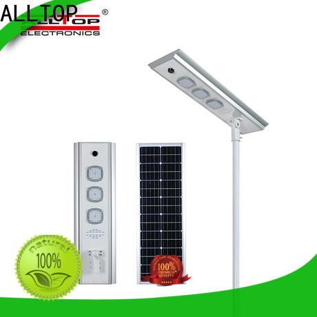 ALLTOP waterproof street lamp solar high-end wholesale