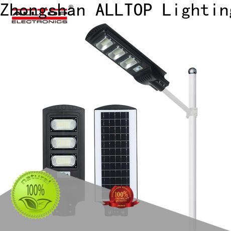 ALLTOP high-quality solar power street lighting best quality supplier