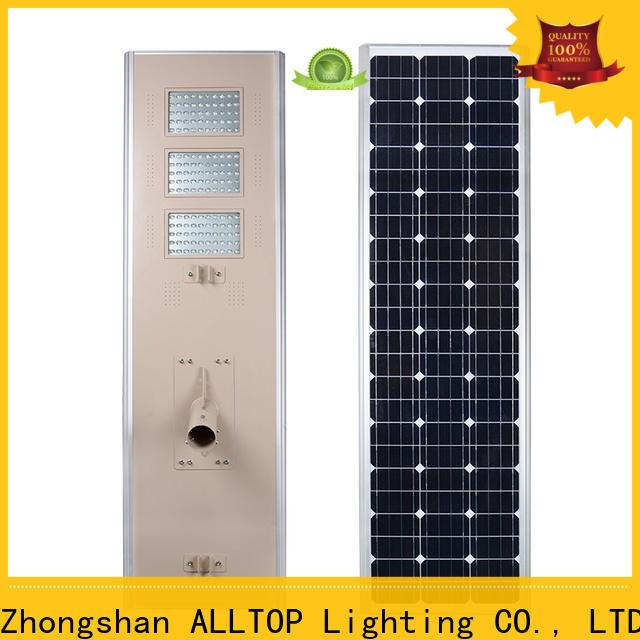 ALLTOP decorative solar street lights best quality supplier