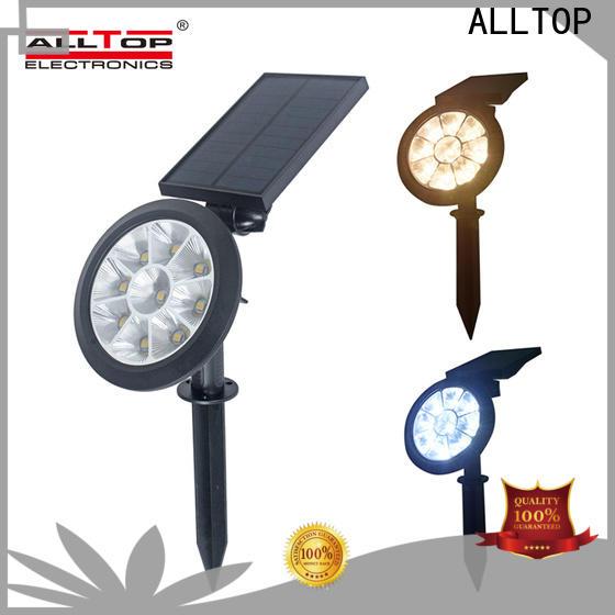ALLTOP solar garden post lights