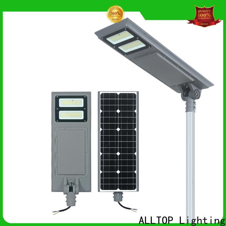 ALLTOP solar powered outdoor street lights best quality supplier