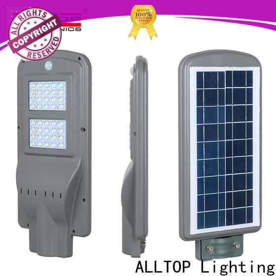 ALLTOP street lamp solar high-end manufacturer