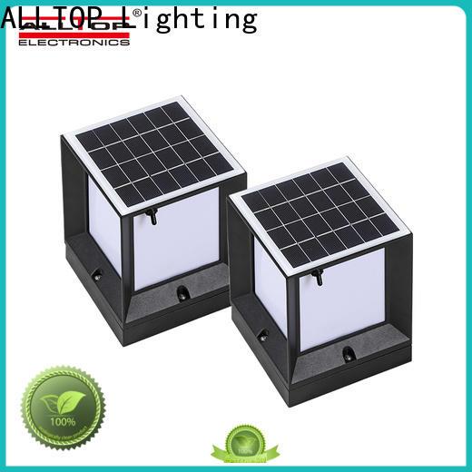 garden fence solar lights