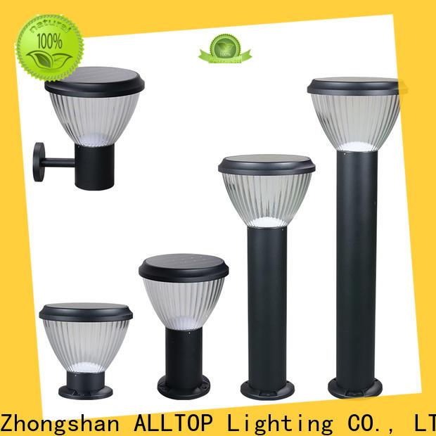 ALLTOP solar led garden light factory
