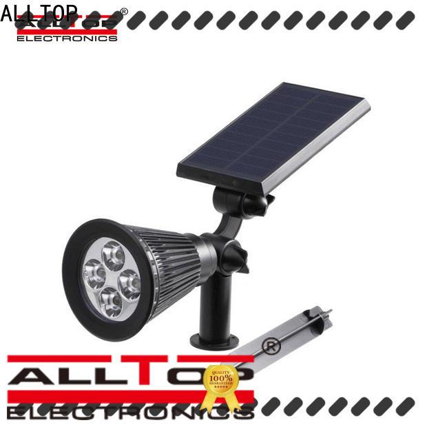 solar powered post lantern