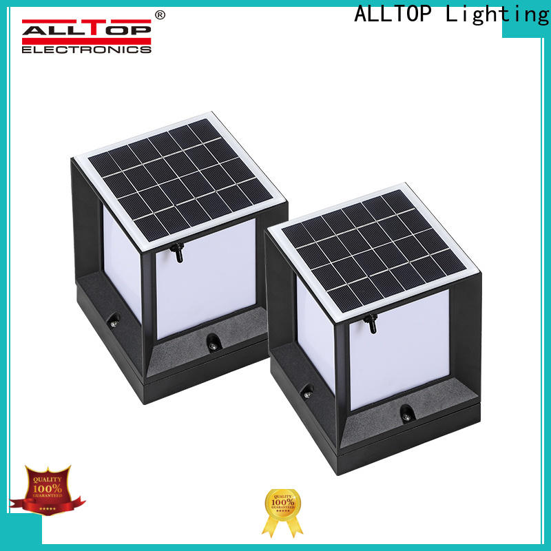 ALLTOP best outdoor solar lamp post