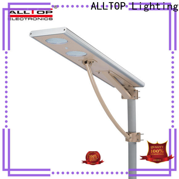 ALLTOP solar powered led lighting functional manufacturer
