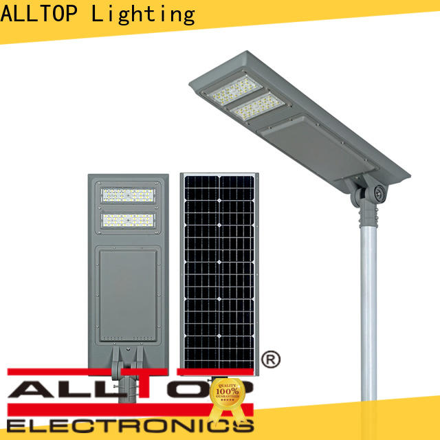 ALLTOP solar power street light price functional manufacturer