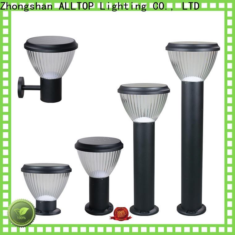 customized solar garden light