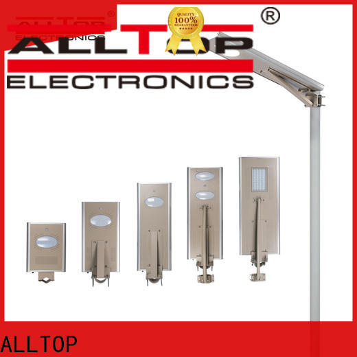 integrated solar street light with pole manufacturer for highway