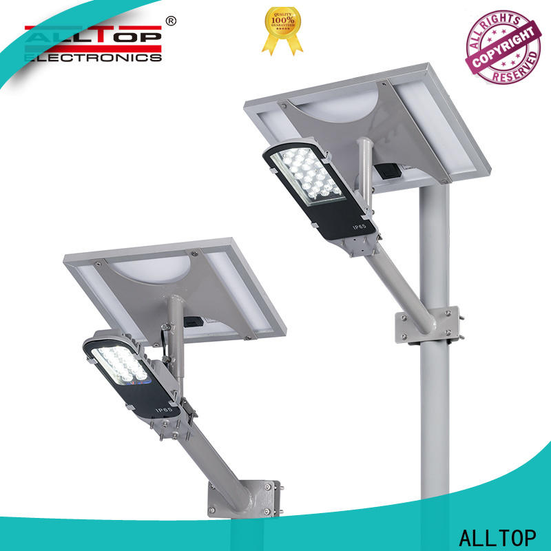 ALLTOP energy-saving solar led street light factory for lamp