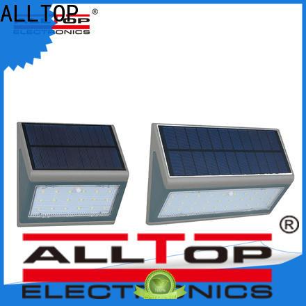 modern solar motion sensor outdoor wall light factory direct supply for garden