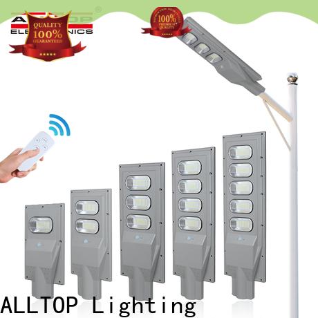 ALLTOP solar powered outdoor street lights directly sale for garden