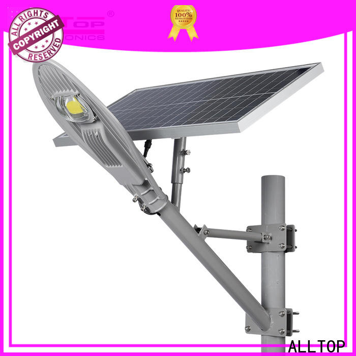 ALLTOP 12w solar street light supplier for lamp