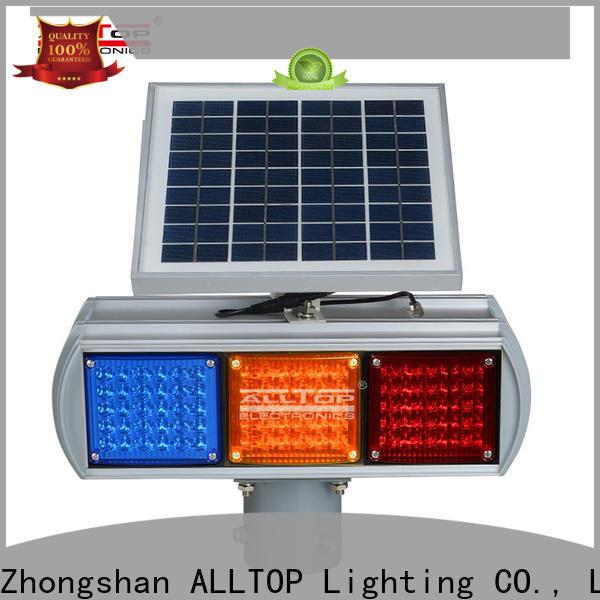 ALLTOP solar road stud lights directly sale for safety warning