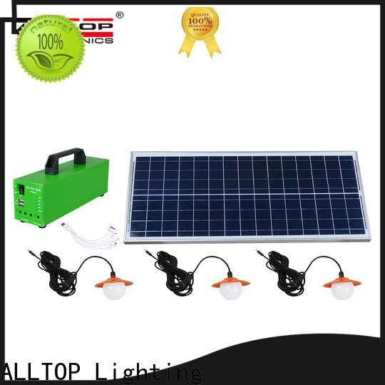 ALLTOP multi-functional home solar panel system supplier indoor lighting