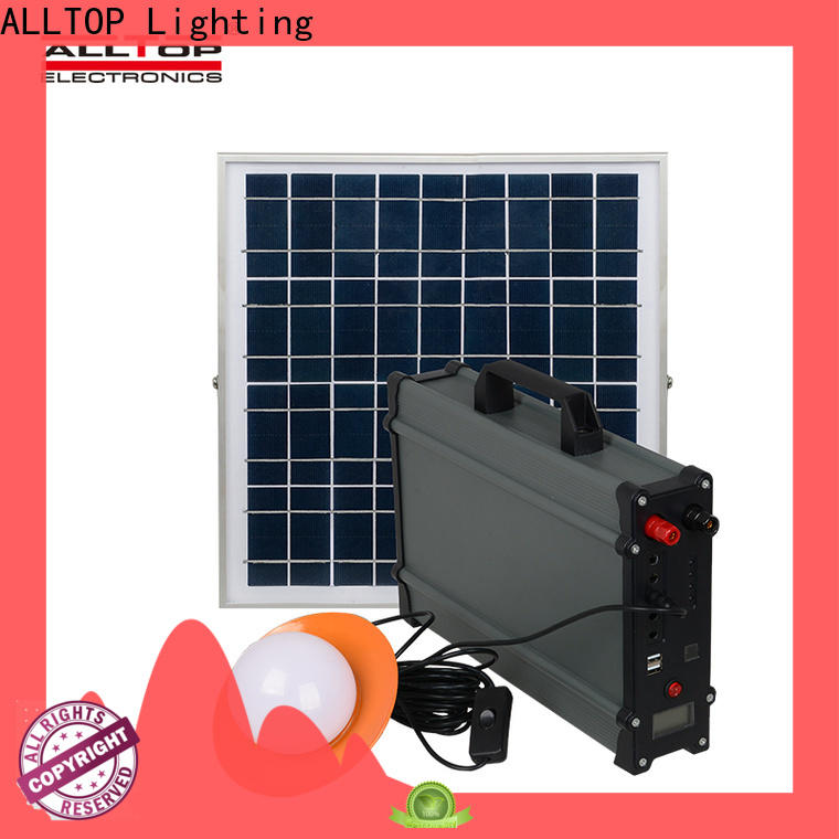 ALLTOP portable solar home lighting system directly sale for camping