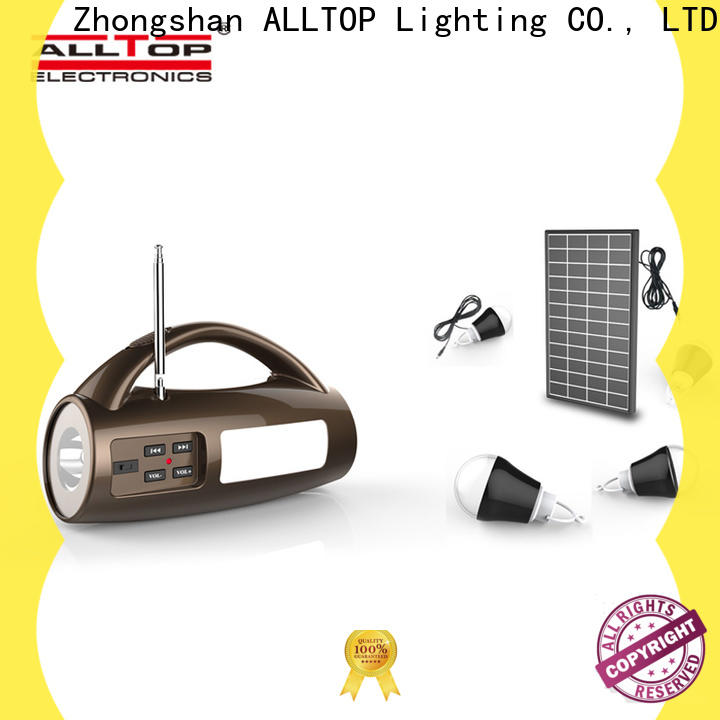 abs solar panel lightning protection system with good price for camping
