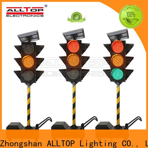 ALLTOP solar traffic light manufacturer series for workshop