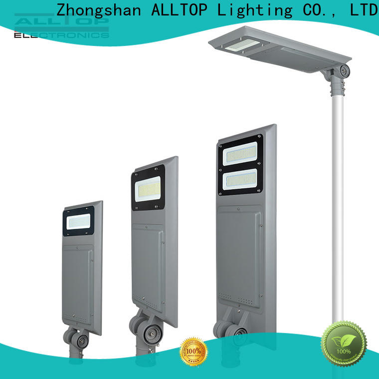ALLTOP high-quality wholesale all in one solar led street light manufacturer for road