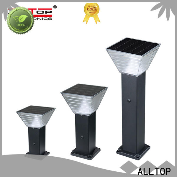 ALLTOP solar powered garden post lights supply for landscape