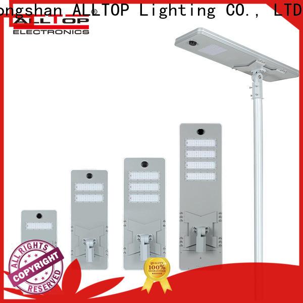 ALLTOP best solar led street light factory direct supply for road