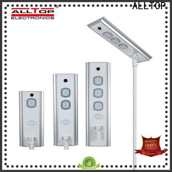 ALLTOP solar street lights outdoor manufacturer for road