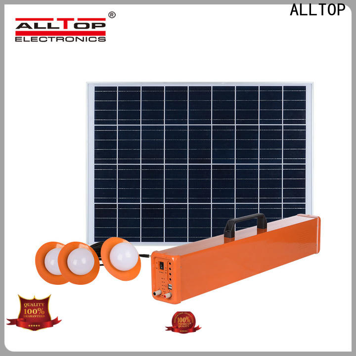 ALLTOP multi-functional solar power bank with good price for battery backup