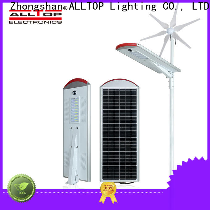 ALLTOP 20w solar street light wholesale for outdoor yard