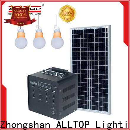 ALLTOP portable solar power bank manufacturer for home