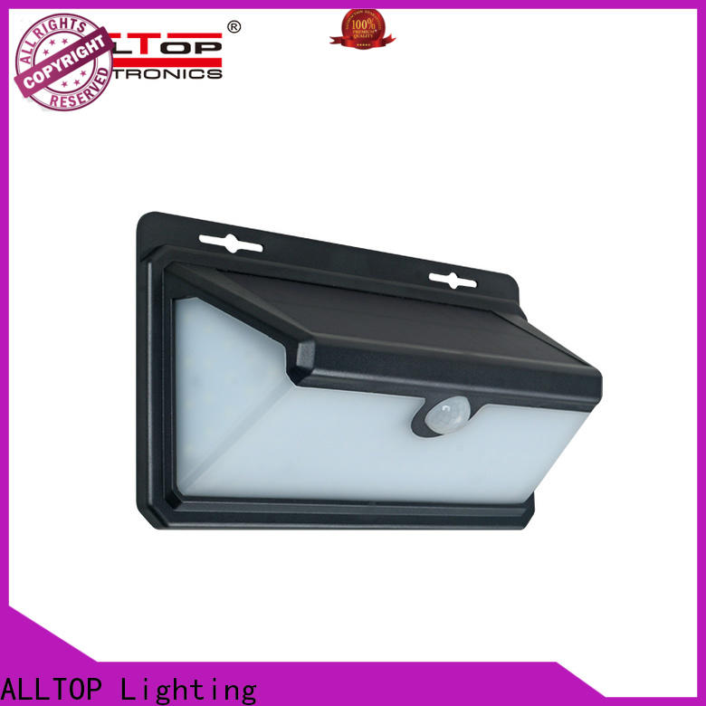 outdoor outdoor solar sconce wall light wholesale for street lighting