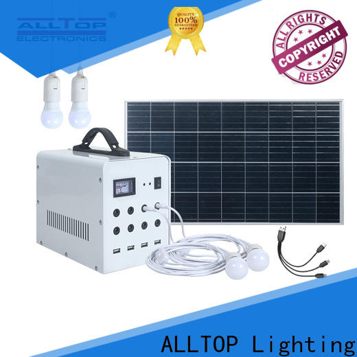 ALLTOP off grid power systems series for camping