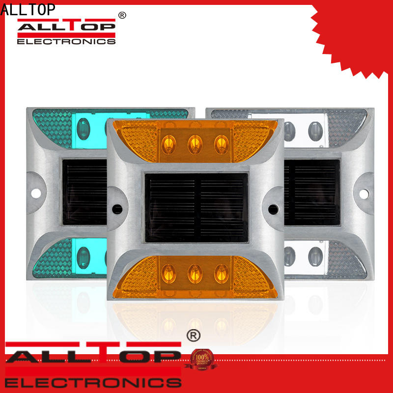 double side traffic barricade flashing light series for factory