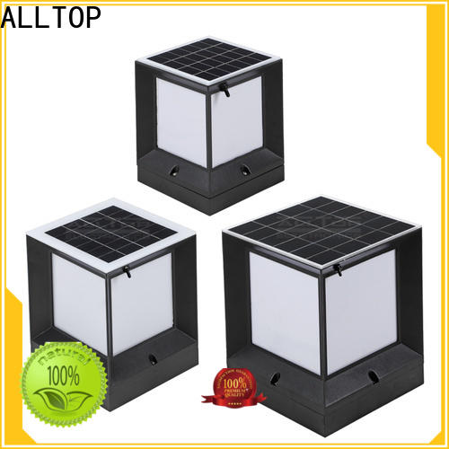 ALLTOP solar panel to power landscape lights manufacturers for landscape