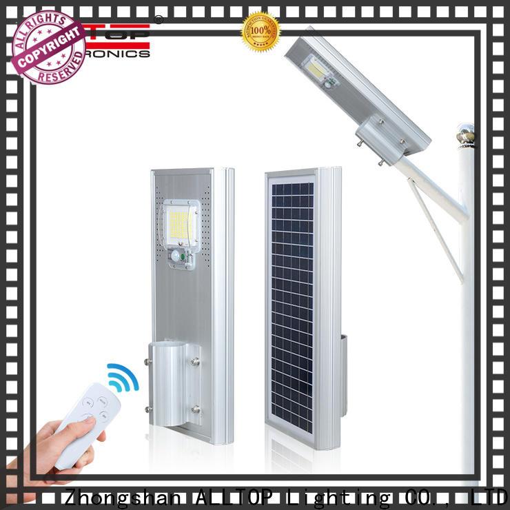ALLTOP solar street light led high-end manufacturer